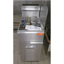 Imperial Commercial Deep Fryer w/ 2 Baskets IFS-40