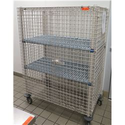 "Metro Max Wire Locking Liquor Cage 50""L x 25"" W x 67""H"