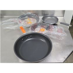"Qty 4 Arkadia Non-Stick Frying Pans 8"" & 10"""