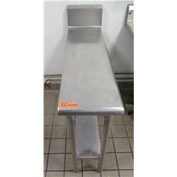 """Utility Work Table w/ Undershelf 49""""L x 13""""W x 35""""H"""