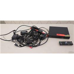 Sony DVD Player w/ Remote & MuxLab 1x2 Splitter, MPN-SW-HD5X14K Switcher