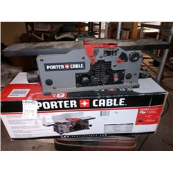 "PORTER CABLE PLAINER 6"" VARIABLE SPEED BENCH JOINTER - WORKS"