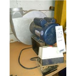 LEESON DUST COLLECTOR 1HP, WORKS