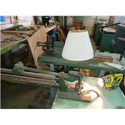 LAMP SHADE ASSEMBLY MACHINE, WORKS