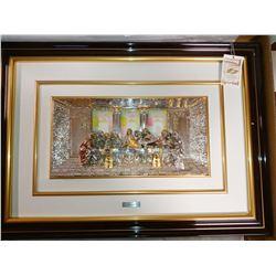DIFFUSIONE FRAMED LAST SUPPER ART STATUE / $499.00 (PER SELLER)