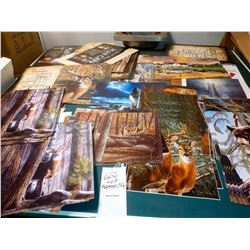 OVER 150+ NEW ASSORTED LICENSED PRINTS, VALUED AT APPROX. $1000.00