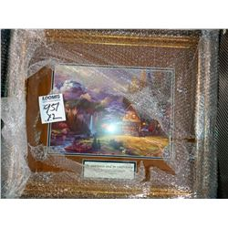 2 ASSORT RELIGIOUS PRINT WOOD& GLASS FRAME RETAIL $69.00