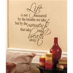 46,512 ASST NEW WALL QUOTE DECALS BY FAMOUS QUOTES : LOT VALUE $1,395,360.00