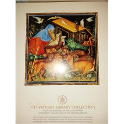 6300 / 12 x 16 Collectible Licensed Vatican Library Collection Prints