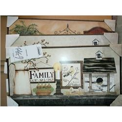 16'' x 30'' WOOD LAMINATED ART RETAIL $29.00