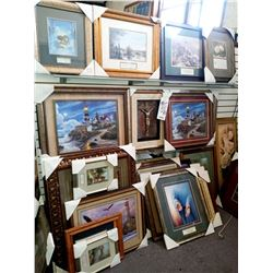 FANCY ART FRAMED/MAT GLASS RETAIL $189.00