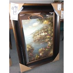 48'' x 33'' BEAUTIFUL ART (DAMAGED) RETAIL $399.00