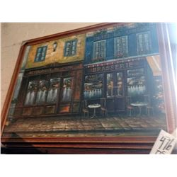 42'' x 55'' OIL PAINTING ON CANVAS GOLD TRIM FRAME RETAIL $499.00