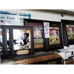 "NFL QB PRINTS / FRAMED AND MATTED / 14"" X 17"""