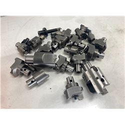 Lot of Misc Twin Head Boring Heads