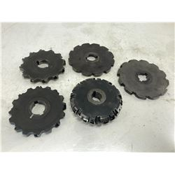 (5) Misc Indexable Slot Milling Cutters
