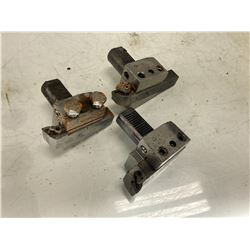 (3) CNC Turret Tool Holder Blocks, P/N: 22-4025-SN""