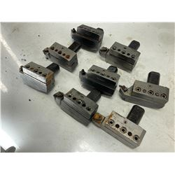 (8) CNC Turret Tool Holder Blocks, P/N: 26-4025-1""