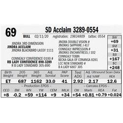 SD Acclaim 3289-0554