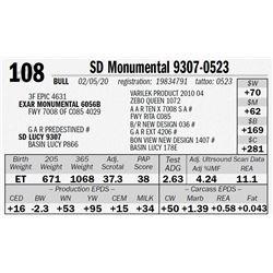 SD Monumental 9307-0523