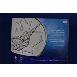 Collection of 2010 Vancouver Olympic Quarters (15), 2 Loonies - In a Folder