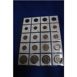 Collection of Canadian Coins (19) & (1) USA Coin