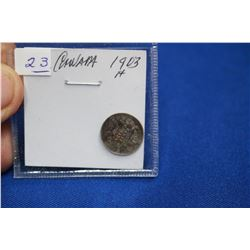 Canada Five Cent Coin (1) - 1903H; Silver