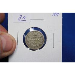Canada Ten Cent Coin (1) - 1899; Silver