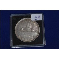 Canada One Dollar Coin (1) - 1935; Silver