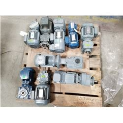 LOT OF SEW EURODRIVE MOTORS *SEE PICTURES FOR DEATAILS*