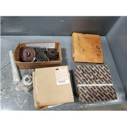 LOT OF MISC CONVEYOR CHAINS *SEE PICS FOR DETAILS*