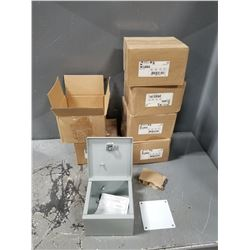 LOT OF HAMMOND ENCLOSURE MOUNT BOXES *SEE PICS FOR DETAILS*