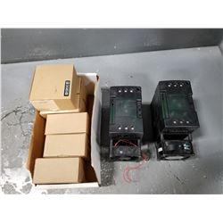 LOT OF MISC WATLOW DINAMITE SOLID STATE POWER CONTROLLER *SEE PICS FOR DETAILS*