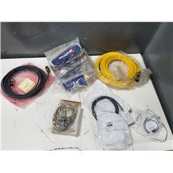 LOT OF MISC CABLES *SEE PICS FOR DETAILS*