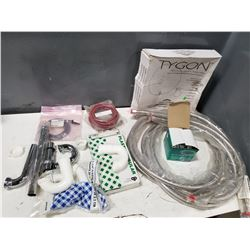 LOT OF MISC TUBING, PIPES, HOSES, ETC. *SEE PICS FOR DETAILS*