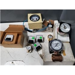 LOT OF MISC FLOW METERS *SEE PICS FOR DETAILS*