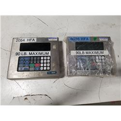 LOT OF WEIGHT SCALE OPERATOR PANELS *SEE PICS FOR DETAILS*