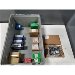 LOT OF MISC ELECTRICAL COMPONENTS *SEE PICS FOR DETAILS*