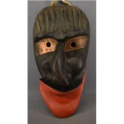 IROQUOIS INDIAN FALSE FACE MASK