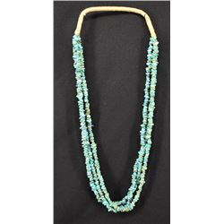 PUEBLO INDIAN TURQUOISE NECKLACE