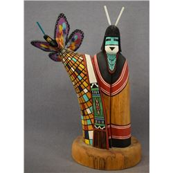 HOPI INDIAN KACHINA ( CLARAN POOYOUMA)