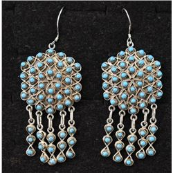 ZUNI INDIAN EARRINGS