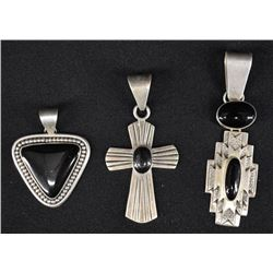 NAVAJO INDIAN PENDANTS