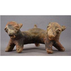 PRE HISTORIC POTTERY DOG