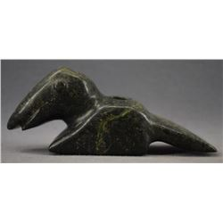 MIDWEST STONE EFFIGY PIPE