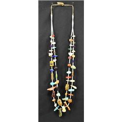 PUEBLO INDIAN TREASURE NECKLACE