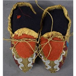 PRAIRIE INDIAN BABY MOCCASINS