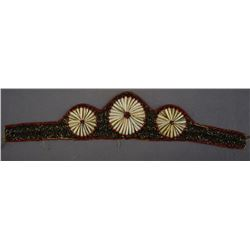 WOODLANDS INDIAN BEADED HEAD BAND