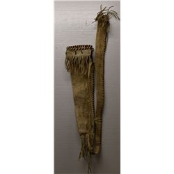 PLAINS INDIAN BOW CASE AND QUIVER