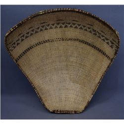 YOKUTS INDIAN WINNOWING TRAY